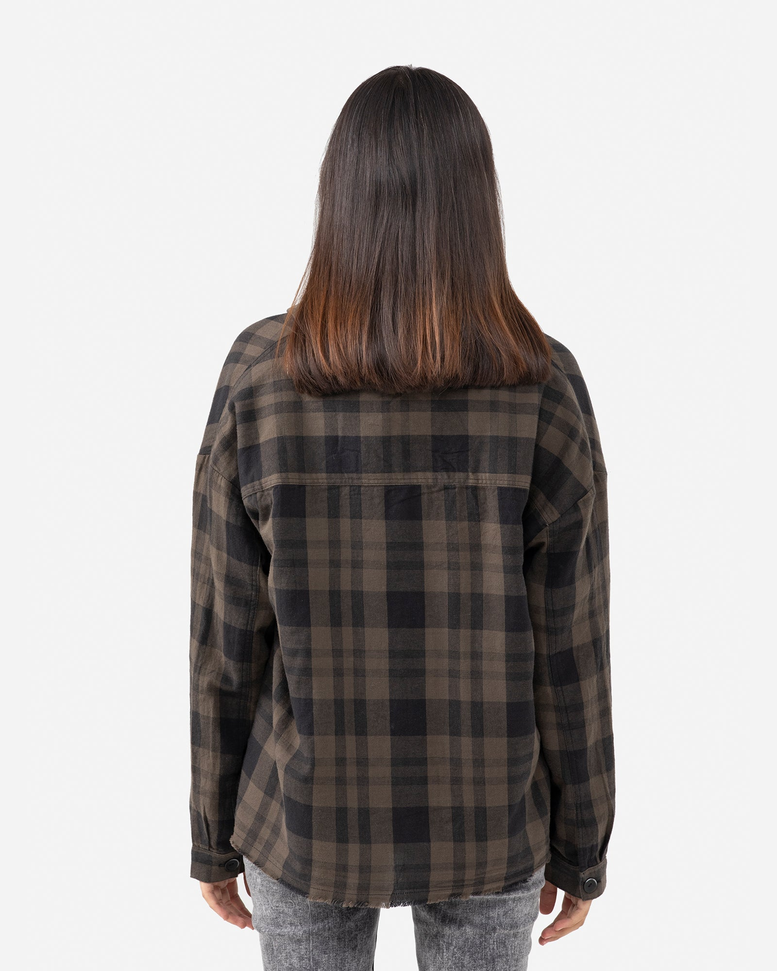 Checkered Shirt with Patch Pockets
