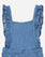 Frill Denim Jumpsuit