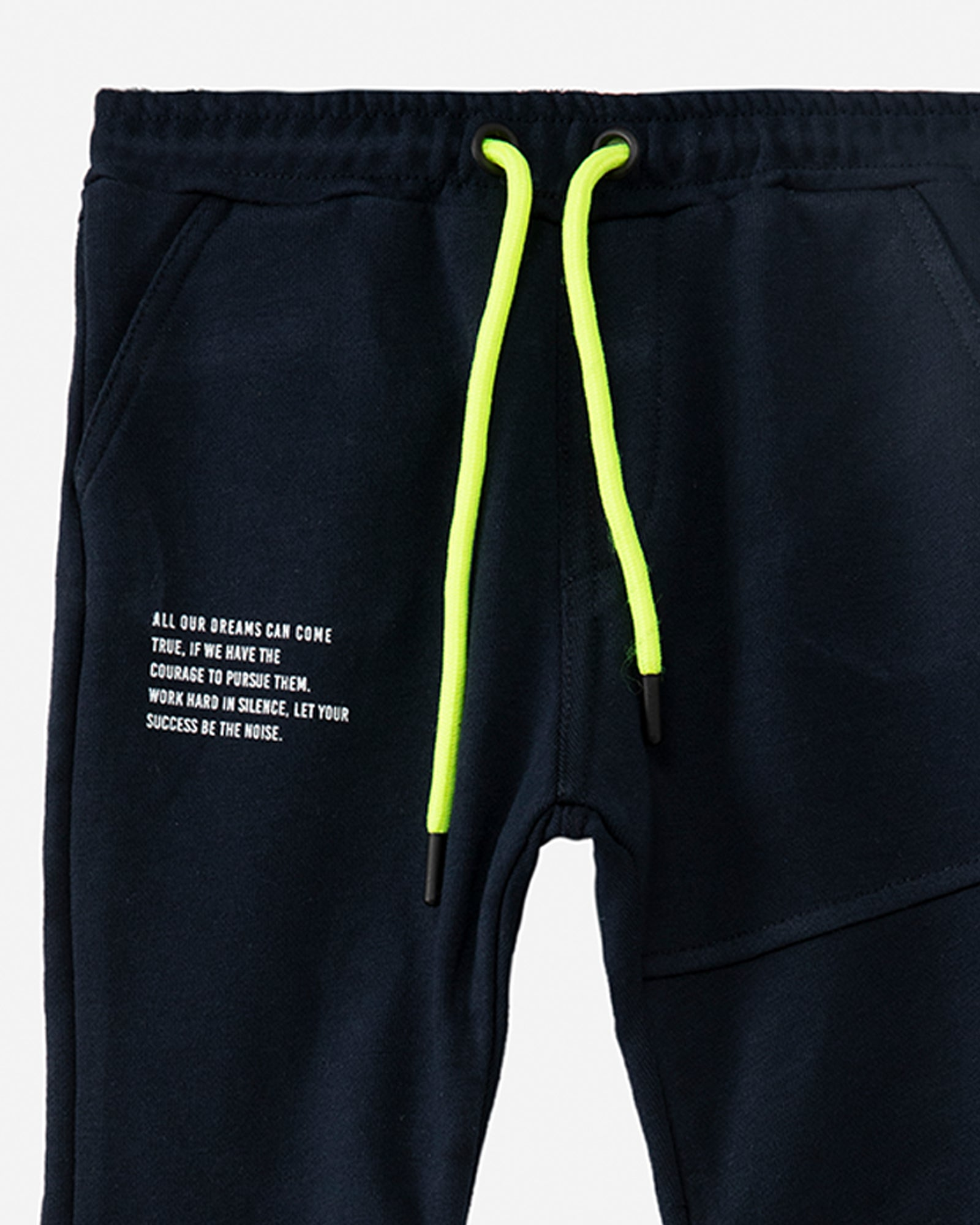 Joggers with Color Pop