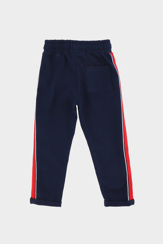 Tapered Blue Jogger Pant