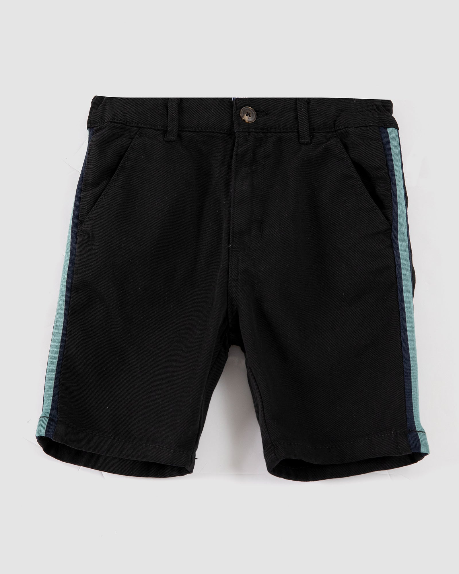 Shorts with Side Tape Detail