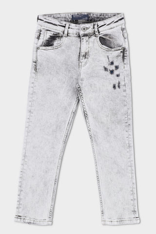 Denim Jeans Light Grey