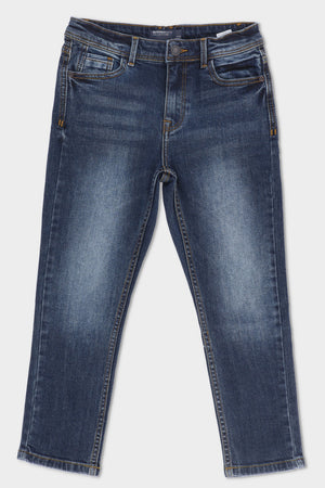 Denim Jeans Dark Blue