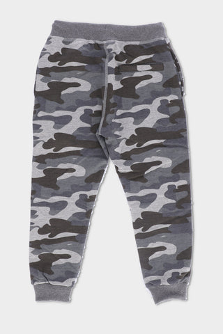 Camo Trouser With Cuffs