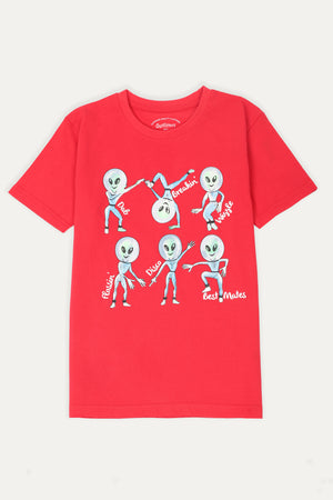 Alien graphic T-shirt