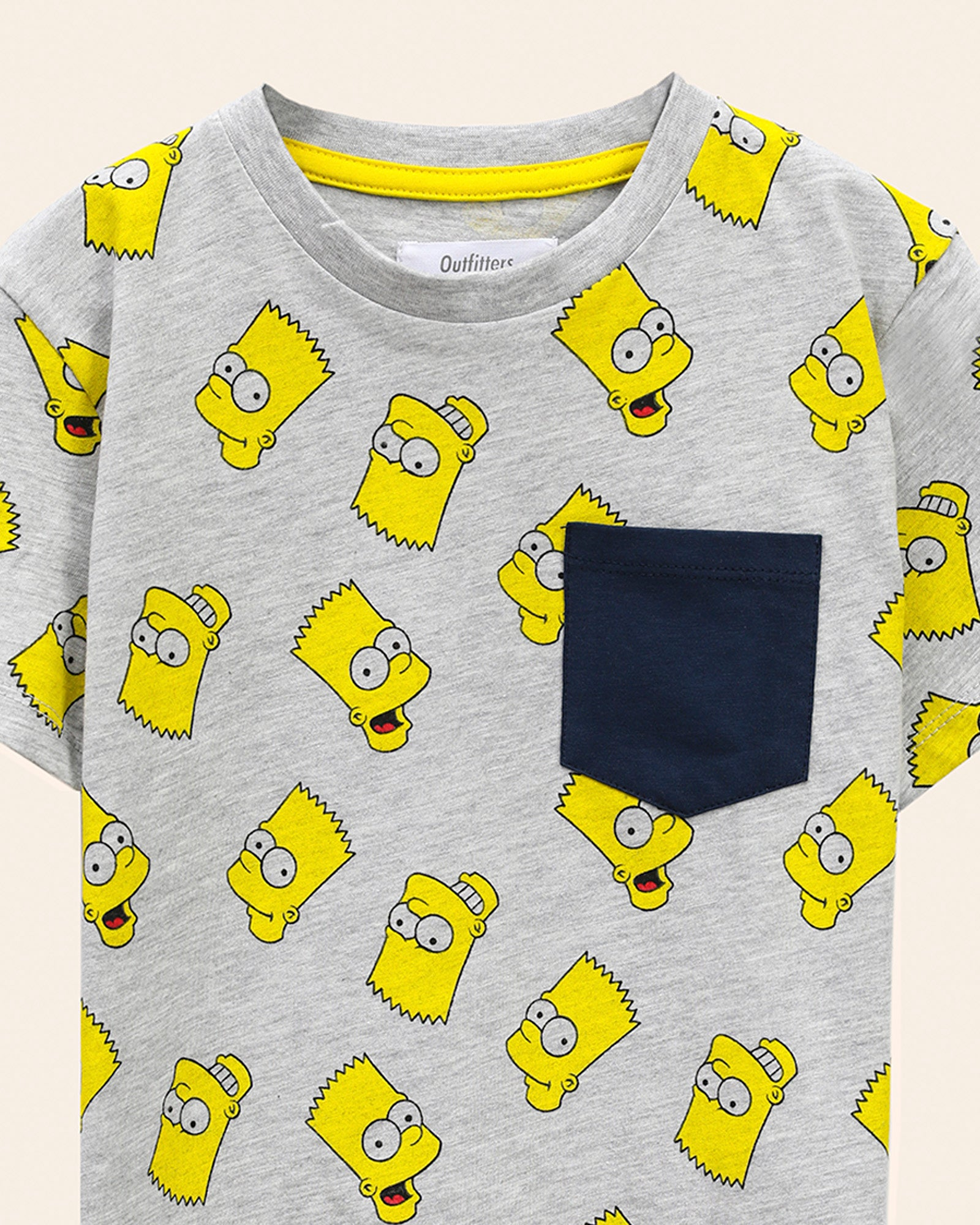 Simpsons Printed T-Shirt