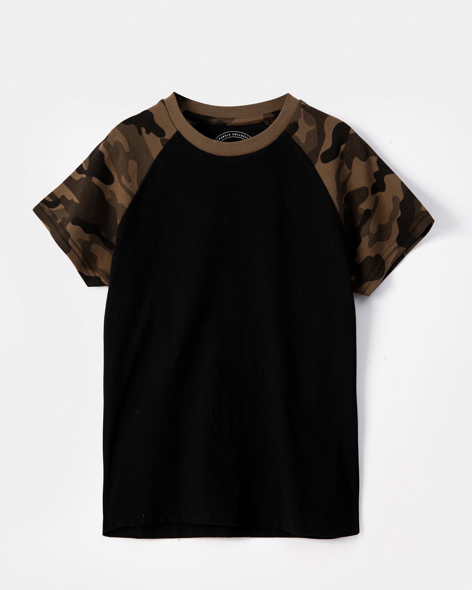 Camouflage Sleeve T-Shirt