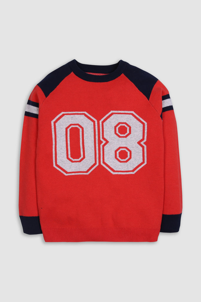 Basic Number sweater