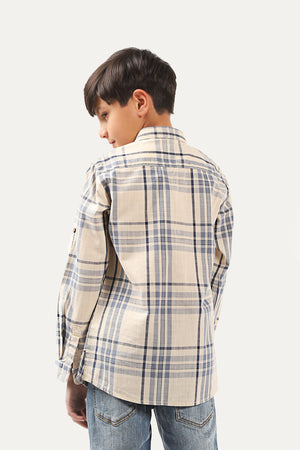 Plaid Pattern Shirt
