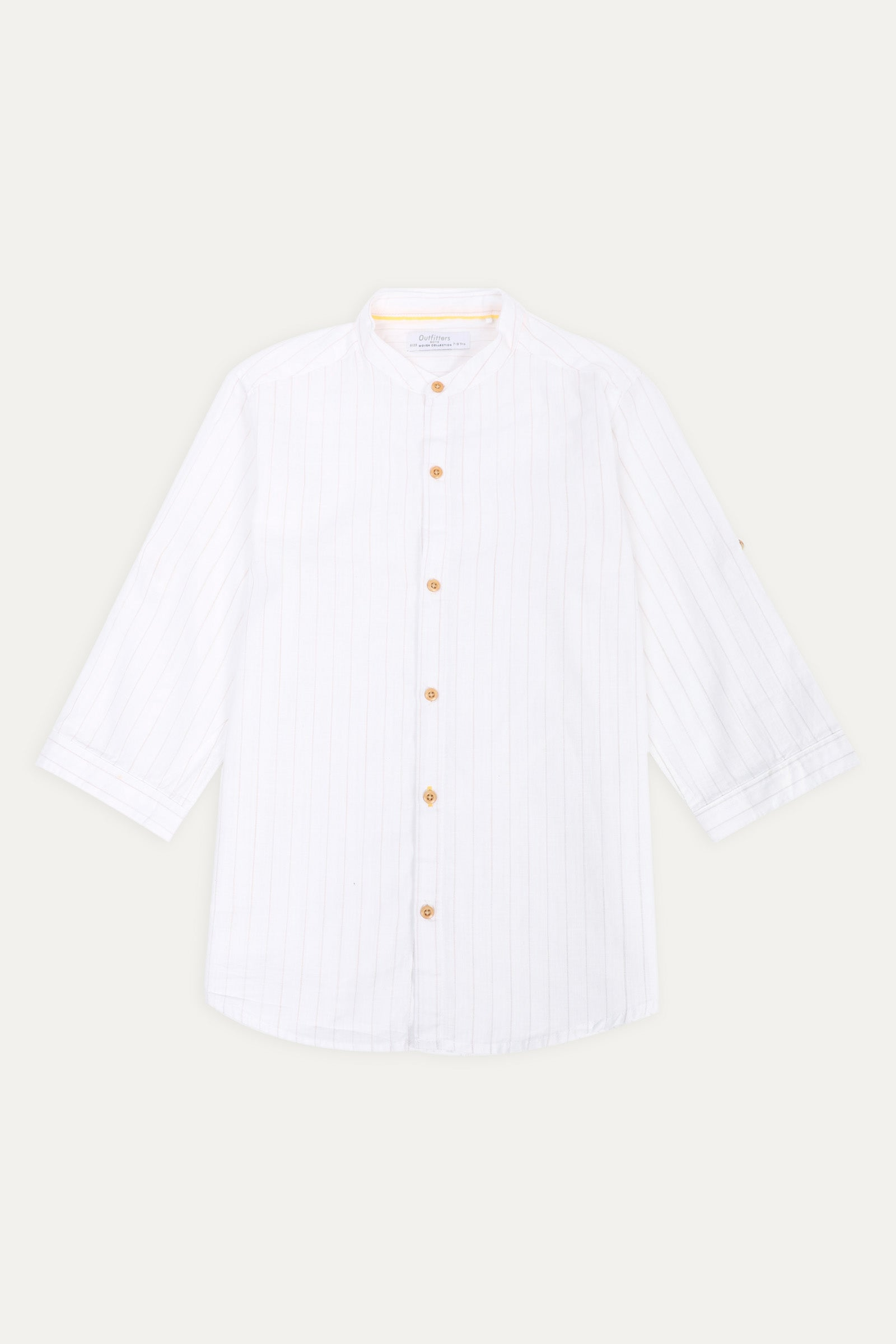 Self-pattern Shirt