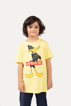 Impress Me' Printed T-SHIRT