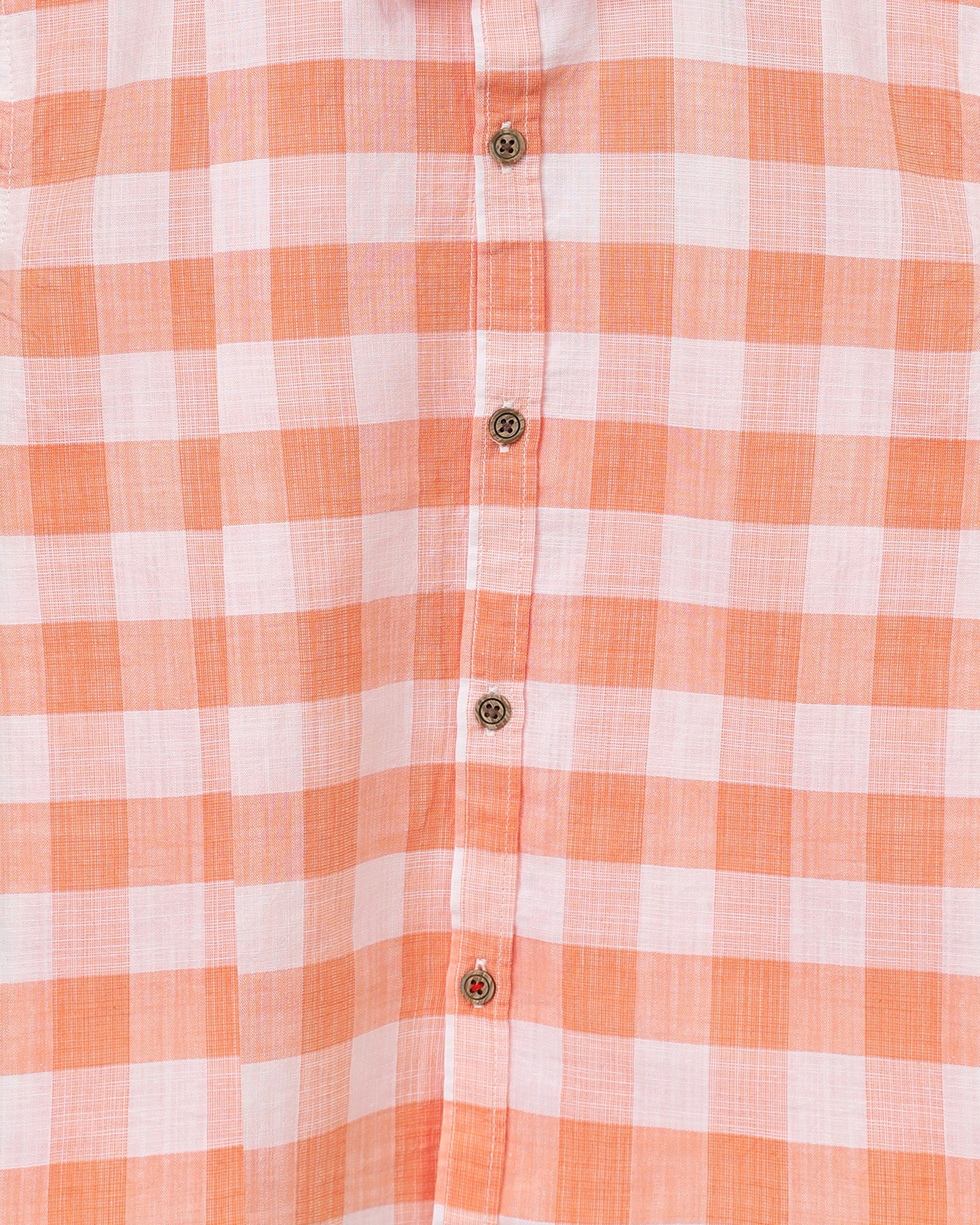 Tonal Checkered Shirt