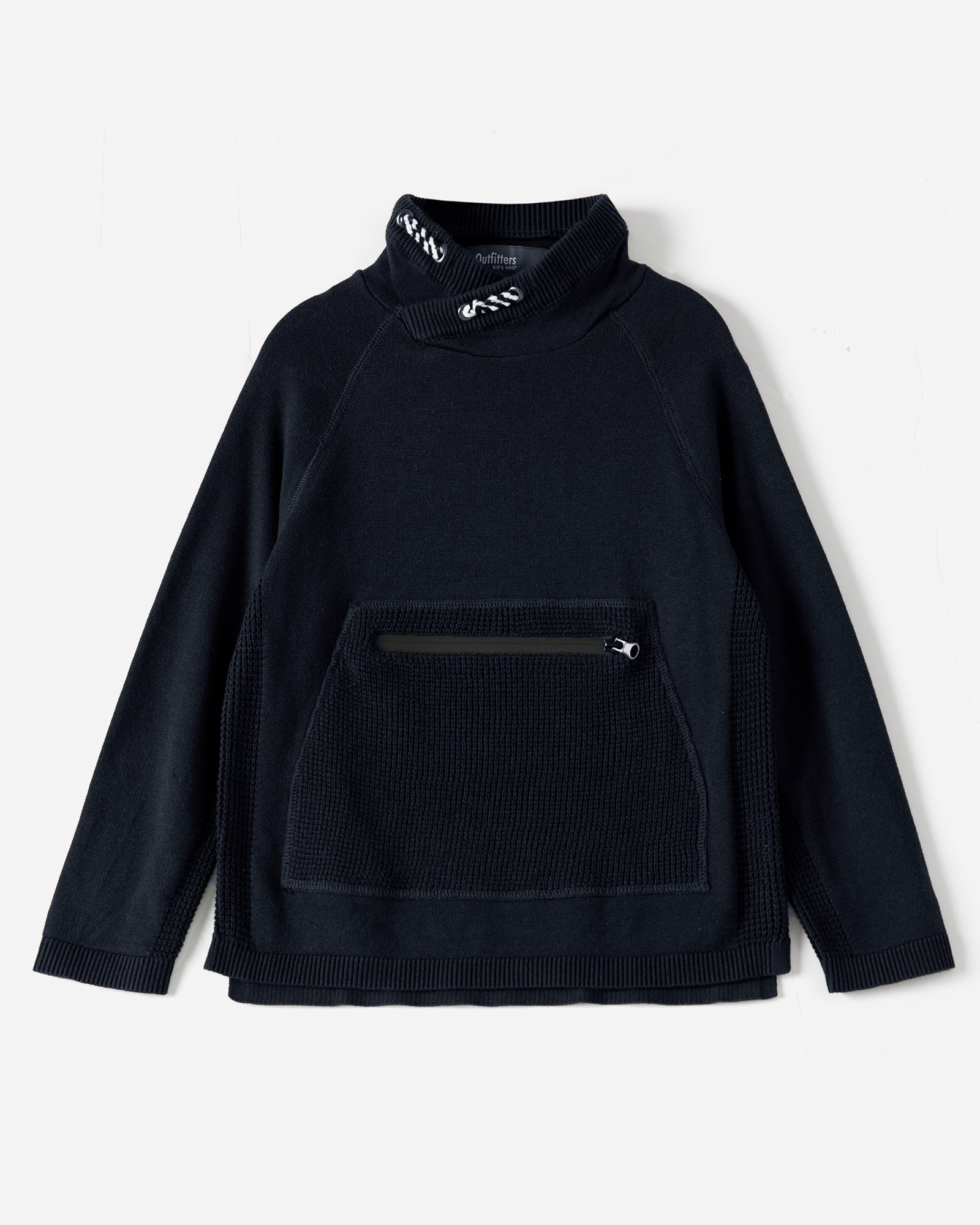 Zipper Pocket Pullover