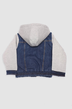 Denim Hood Jacket