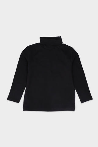 Black Turtle Neck T-shirt