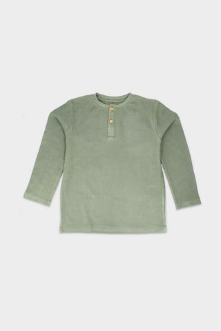 Textured Olive T-Shirt