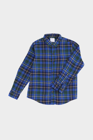 Blue Flannel Shirt