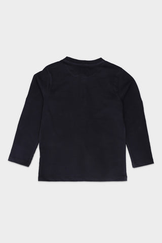Black Henley T-shirt