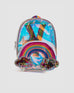 Metallic rainbow back pack