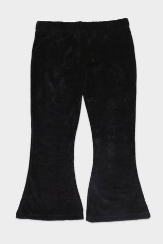 Ribbed Black Trouser