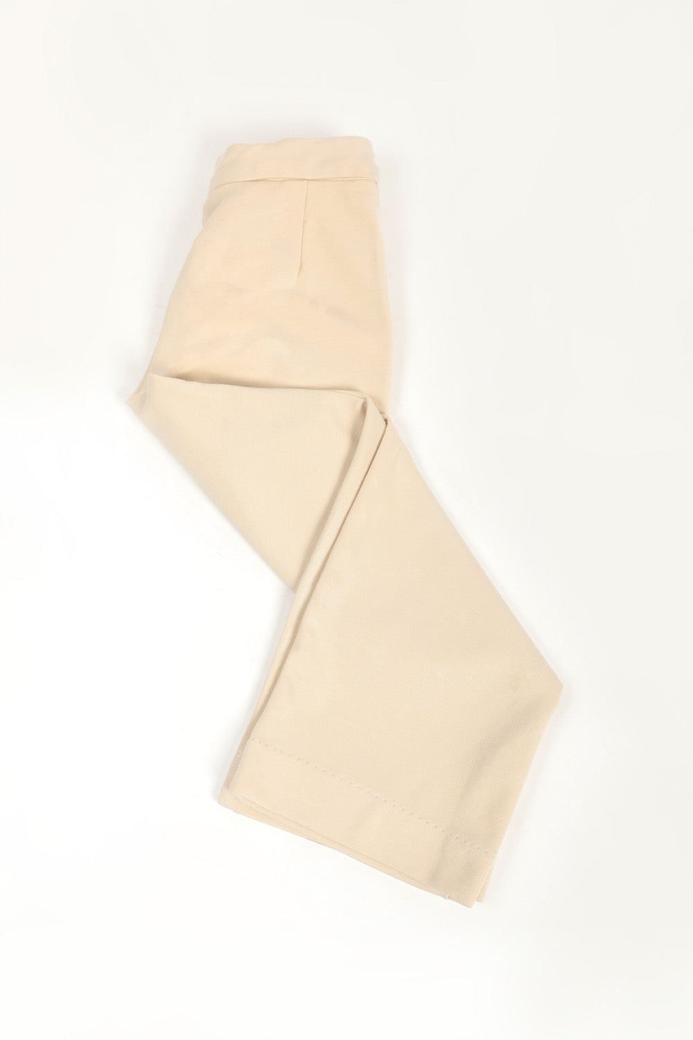 Wide-Cut Culotte Trouser