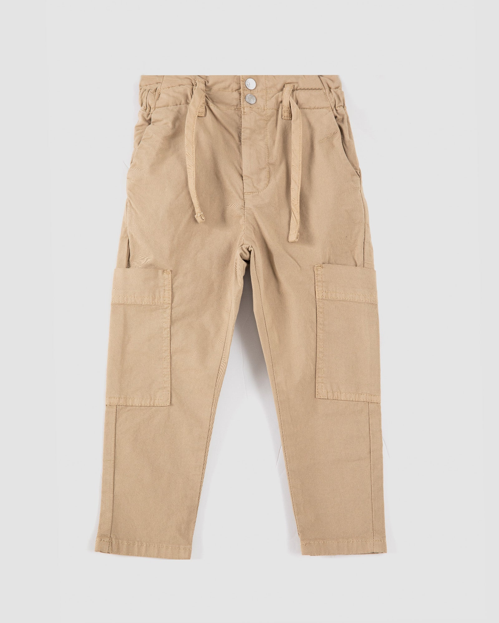Cargo Straight Fit Trousers