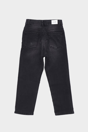 Regular fit Black Denim Jeans
