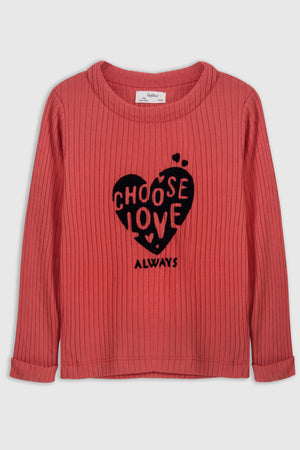 Choose love' T-shirt