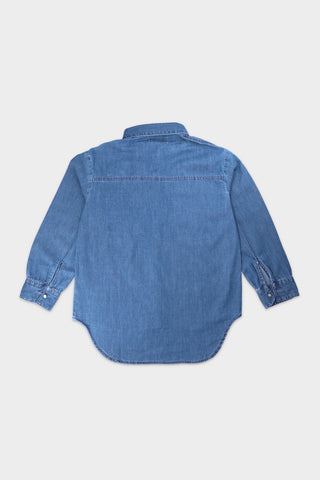 Denim Shirt with applique