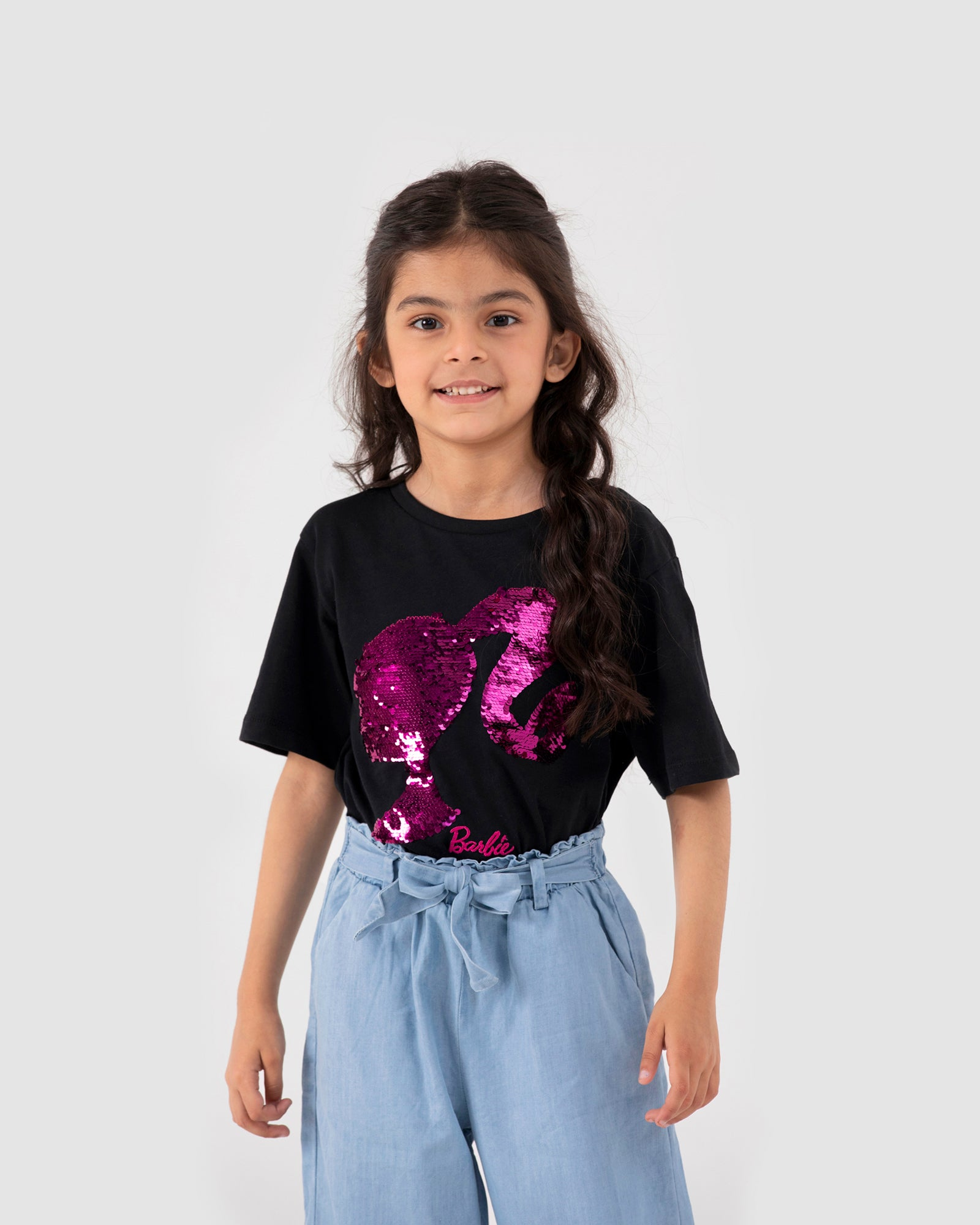 Sequin Illustration Tee