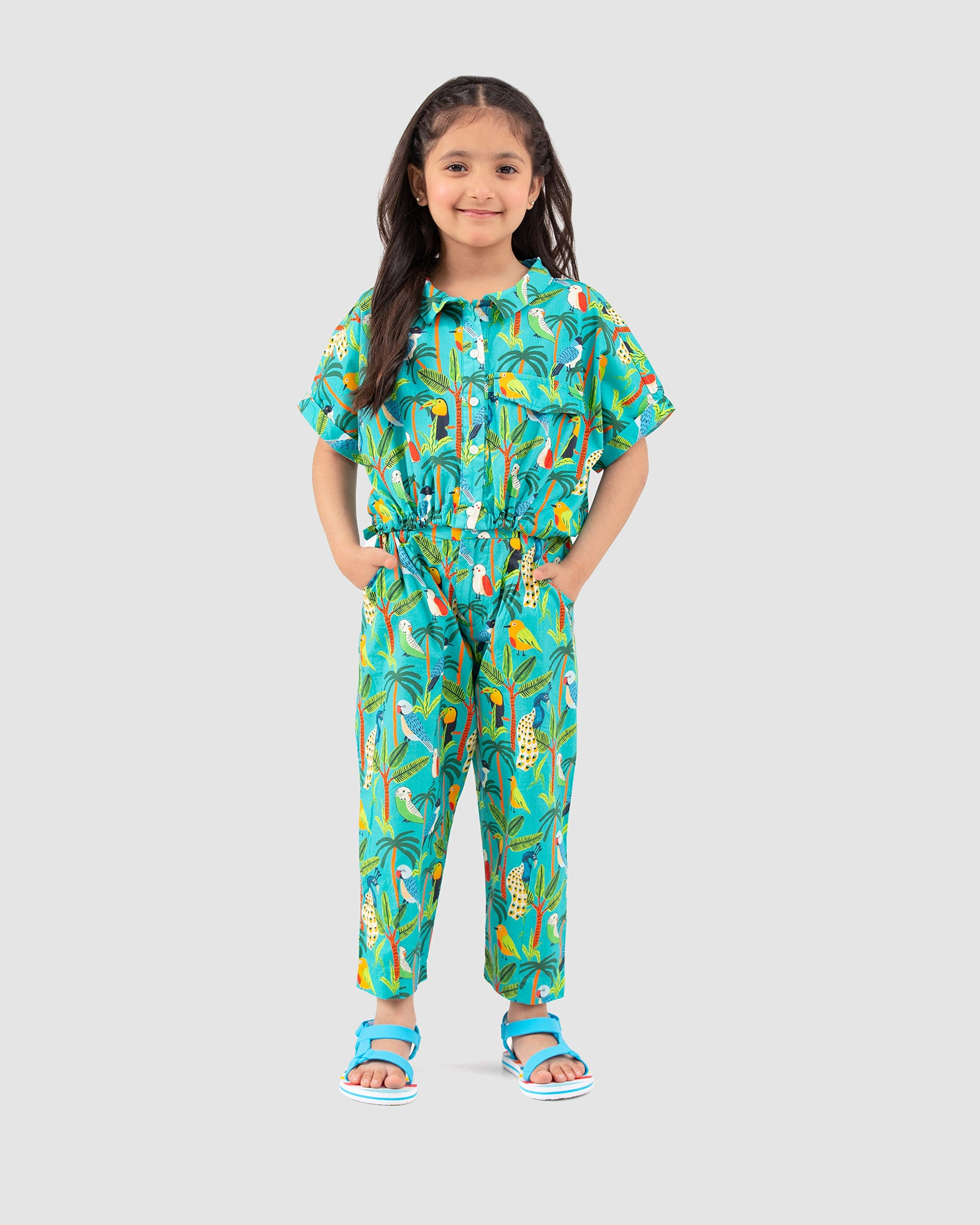 Tropical Print Twin Co-ord Set