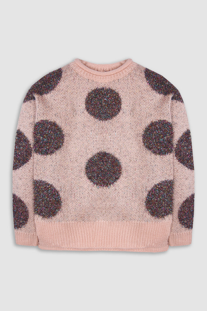 Woolen dotted Jumper