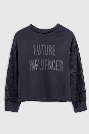 Future Influencer' Statement sweatshirt