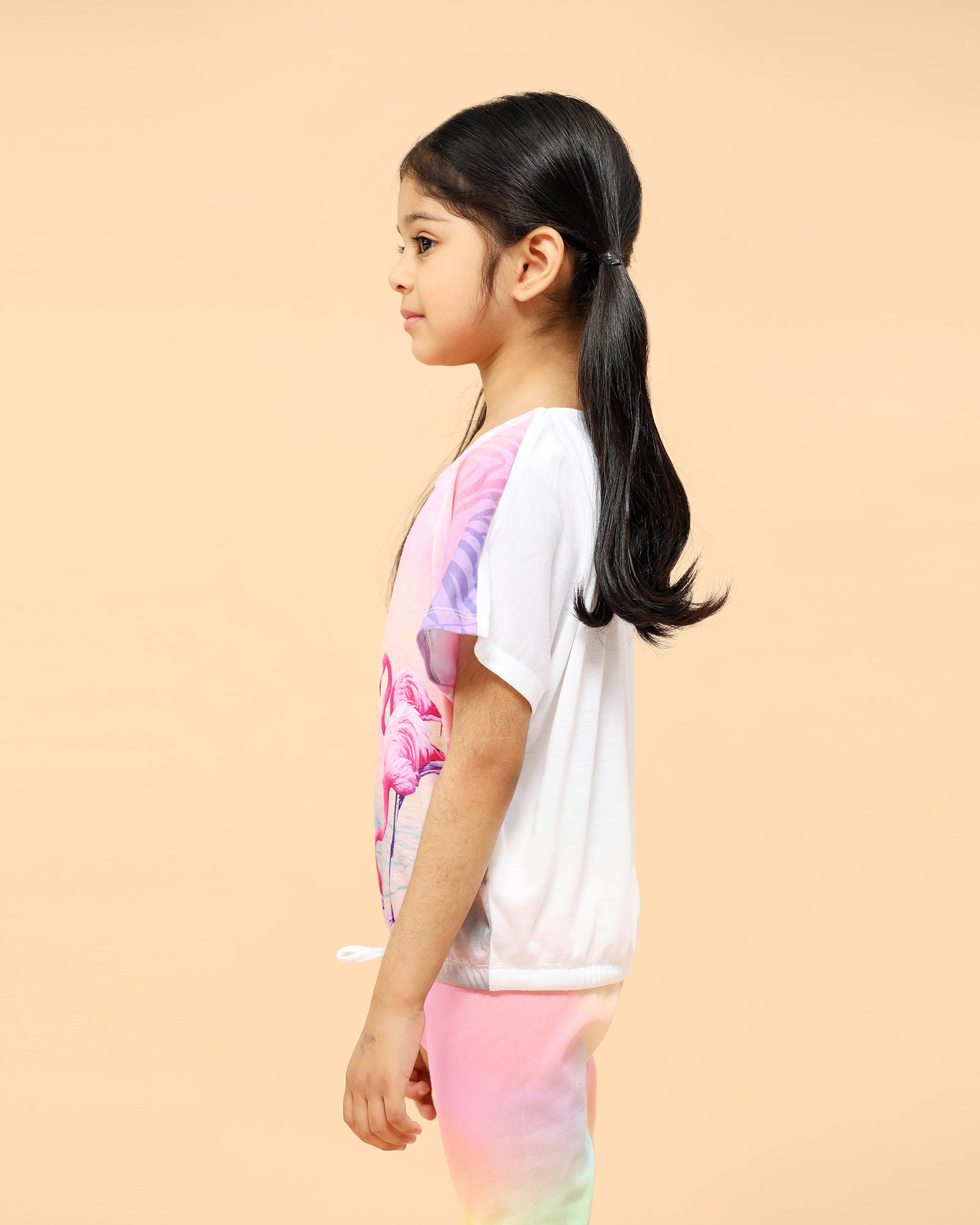 Flamingo Printed Tee