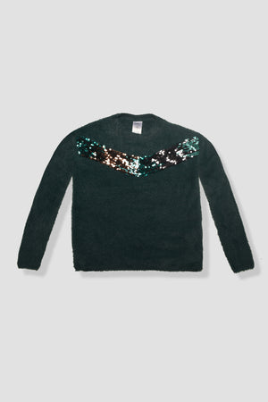 Sequined Ribbed Jumper
