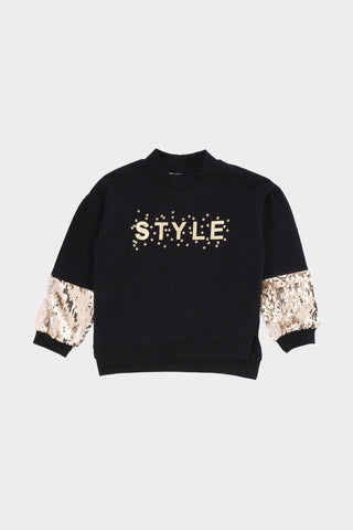 "Round Neck ""style"" Sweat shirt"