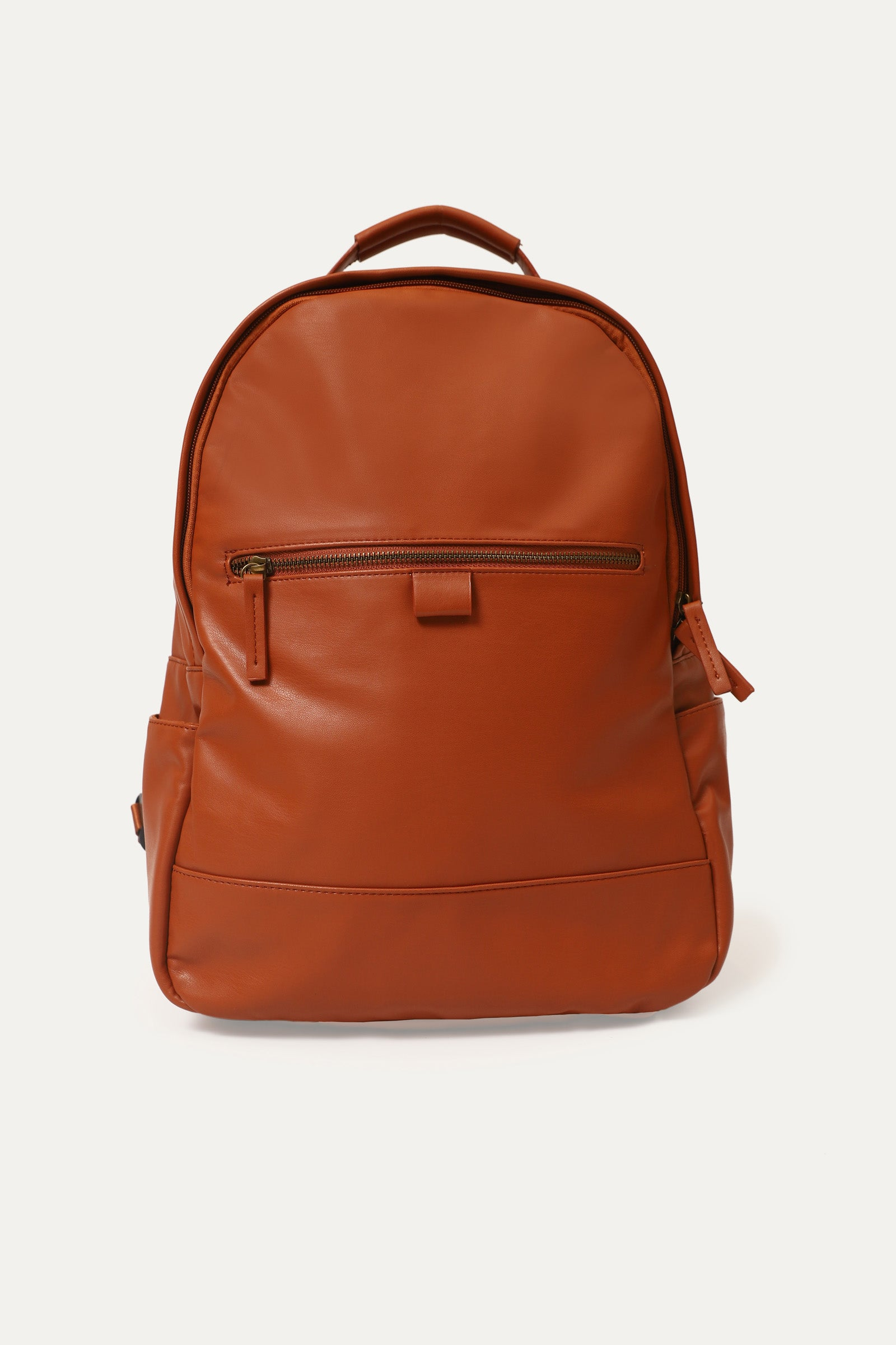 Zipper Detail Backpack Bag