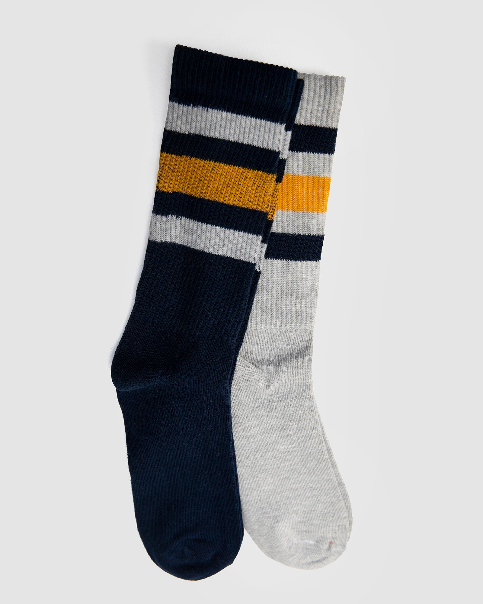Striped Trainer Socks