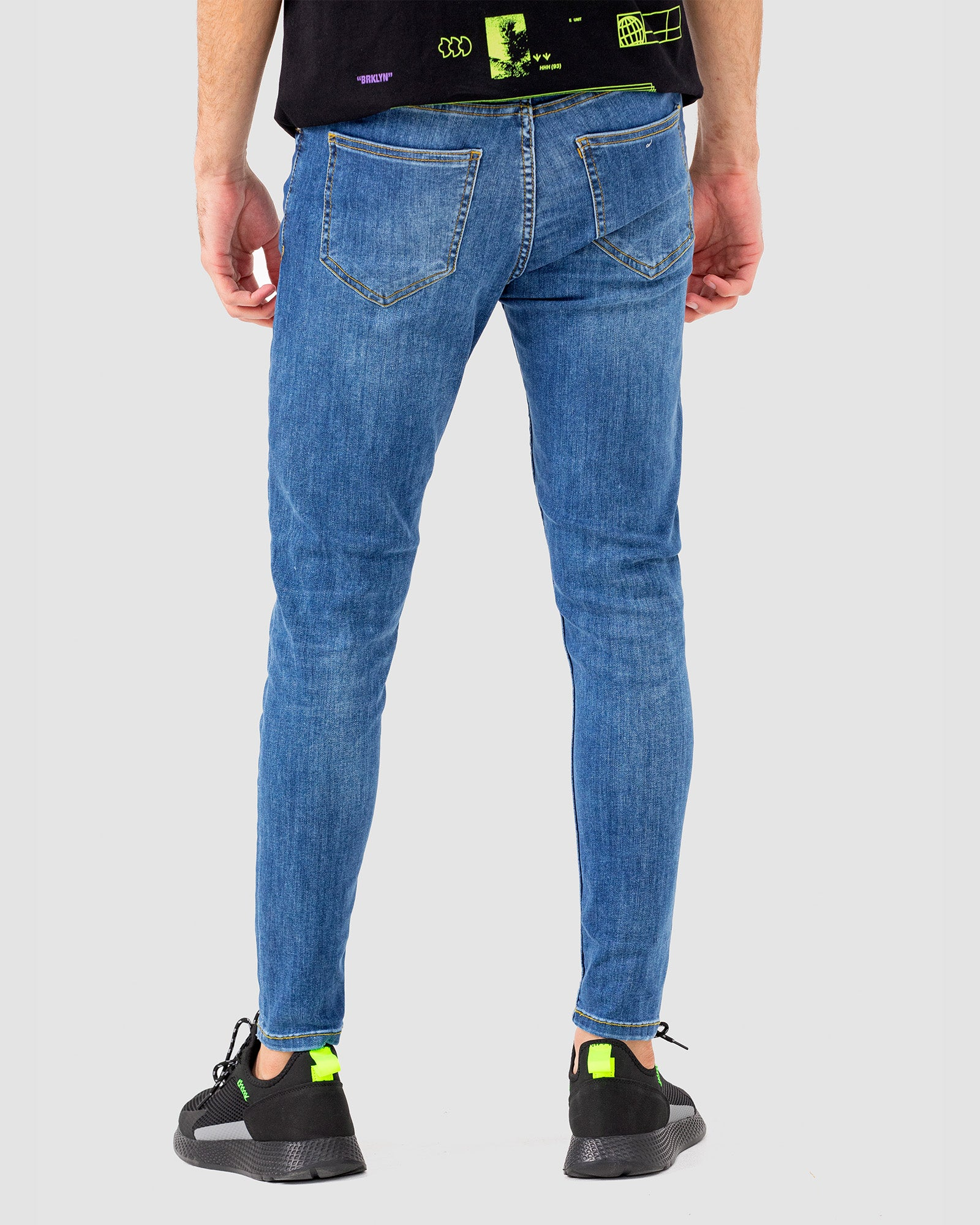 Comfort Skinny Fit Jeans