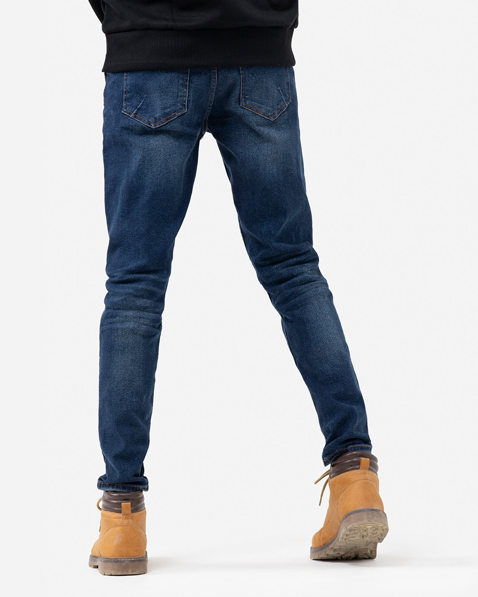 Skinny Fit Jeans with Whisker Detail
