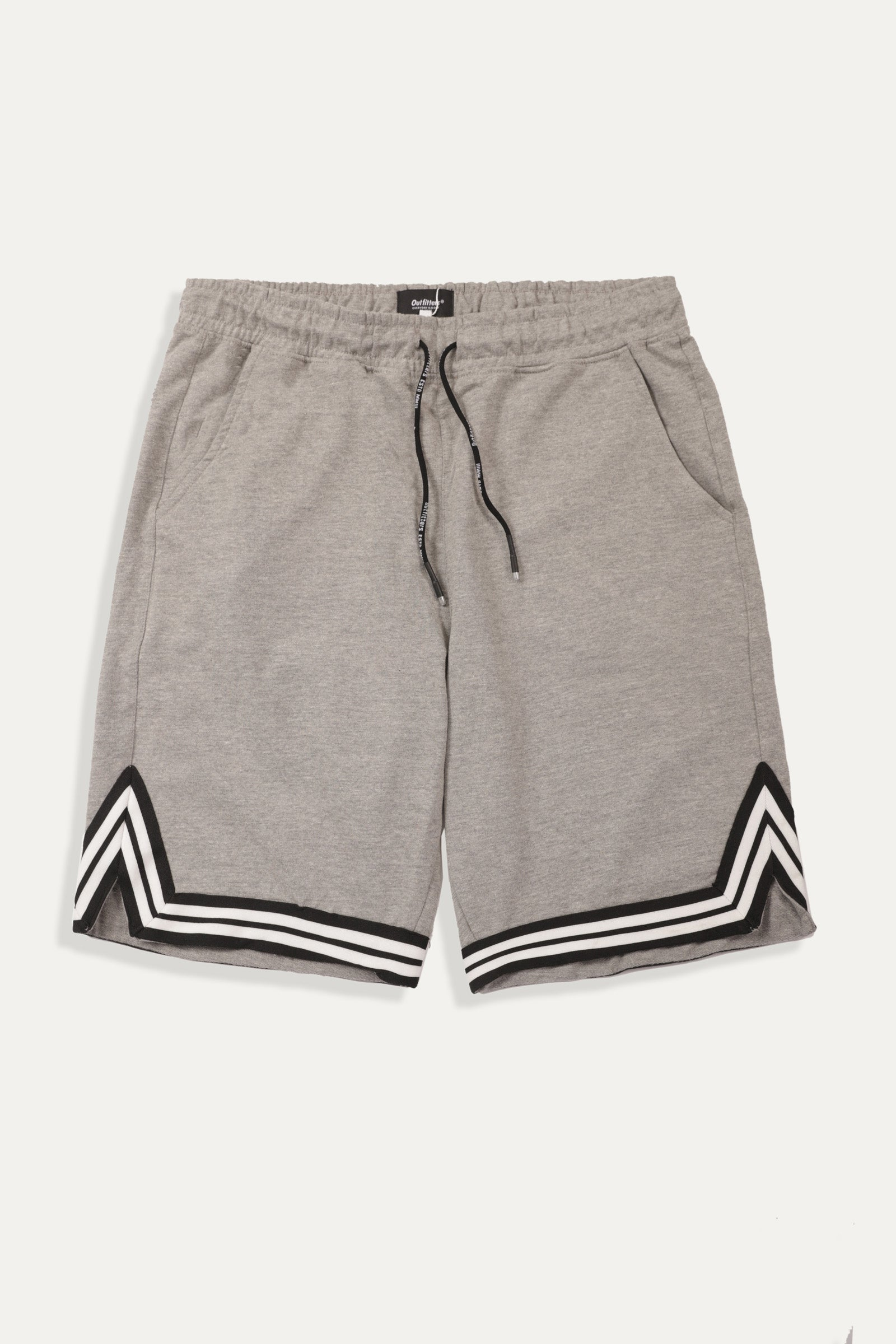 Striped Hem Shorts