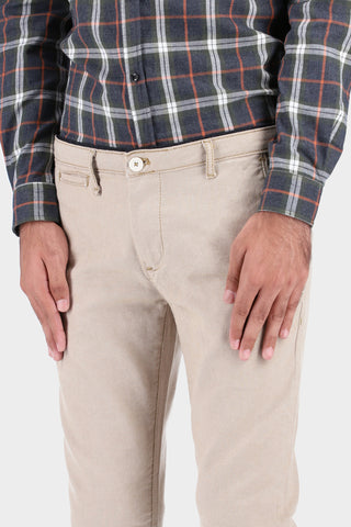 Slim Fit Khaki Chinos