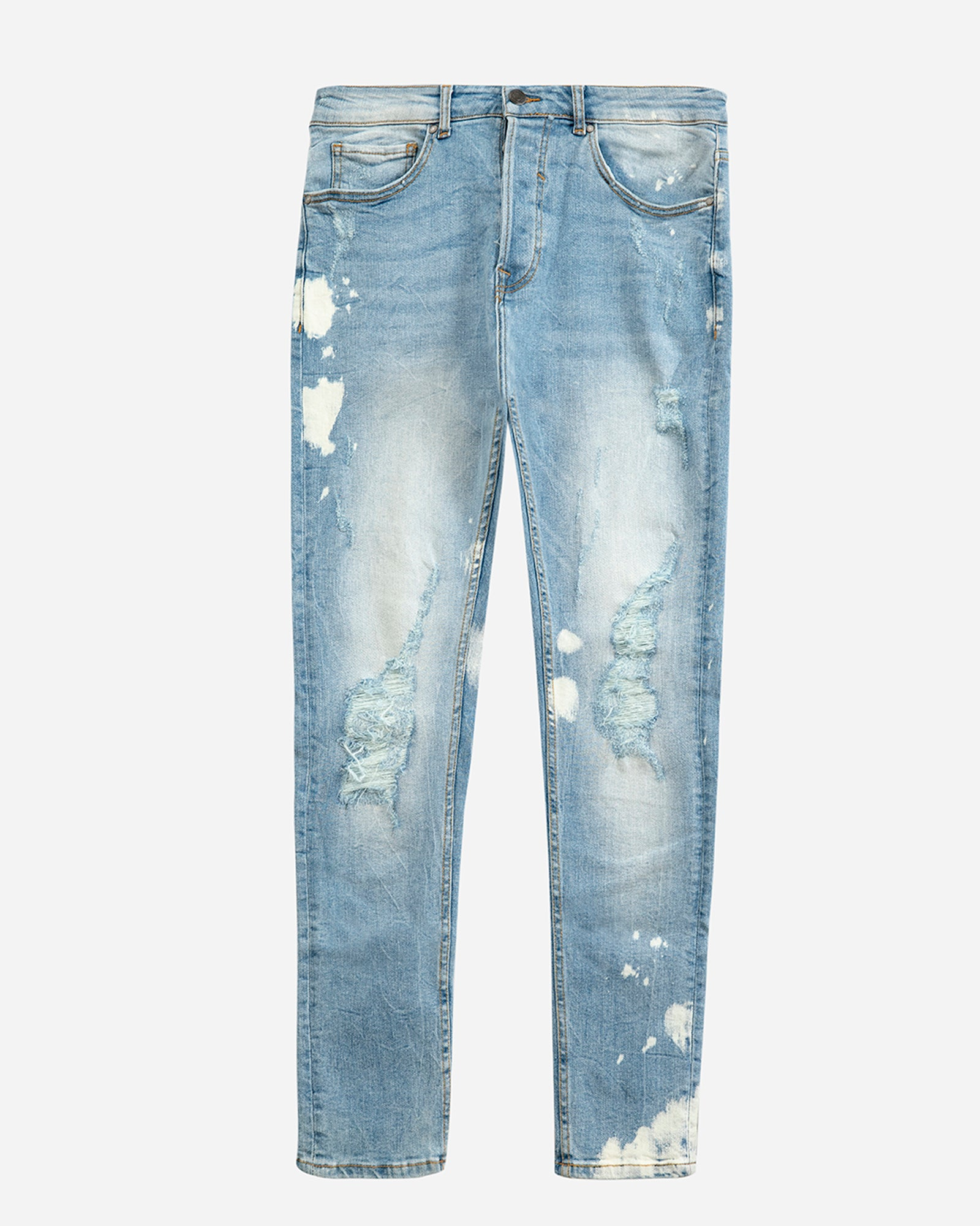Ripped Carrot Fit Jeans
