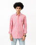 Striped Shirt with Assorted Collar