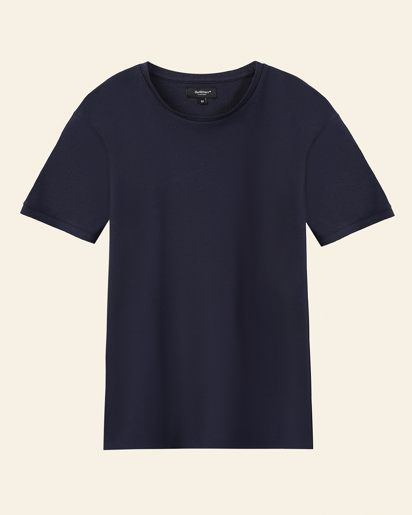 Crew-Neck Basic T-Shirt