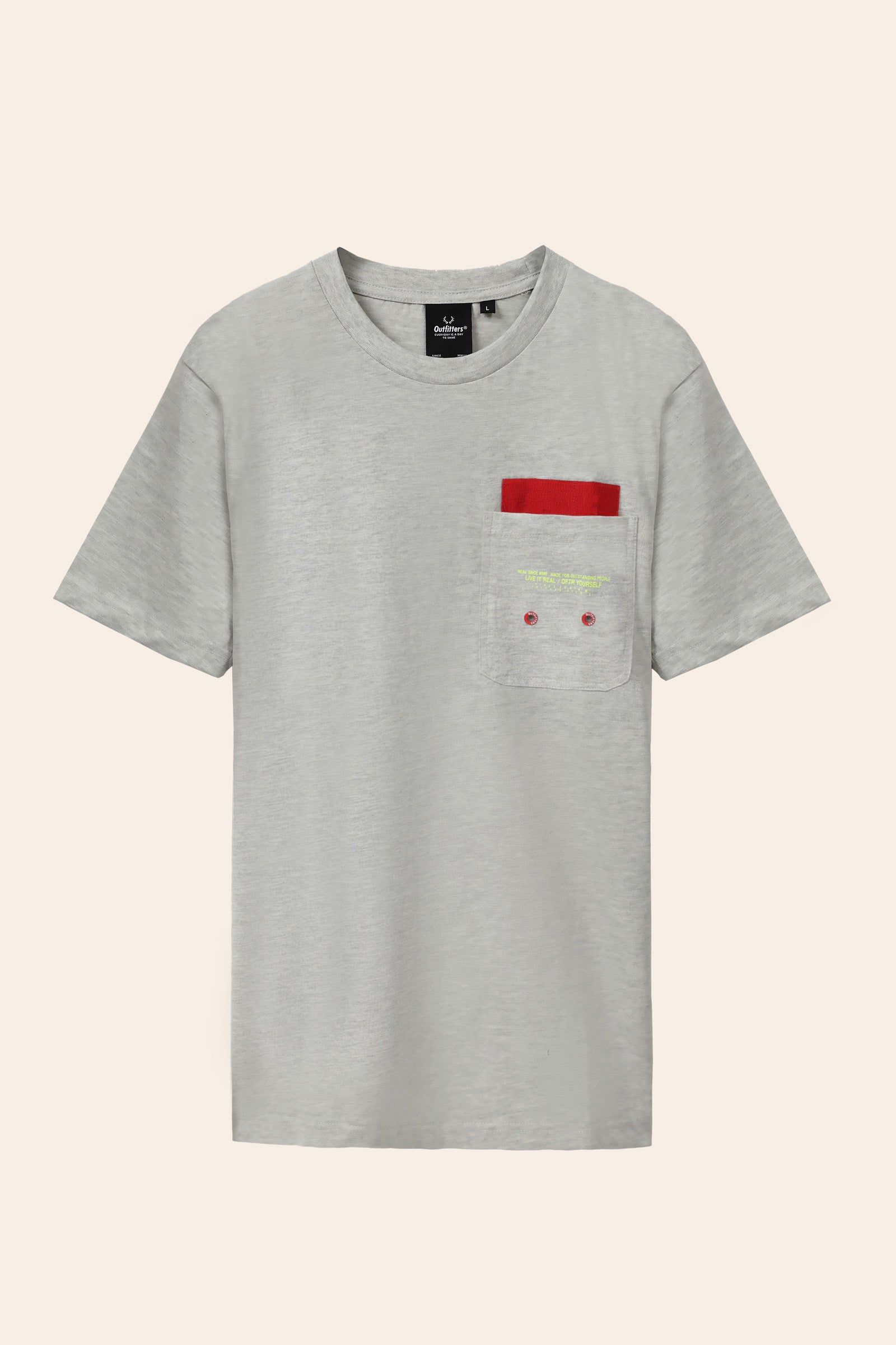 Designed Pocket T-Shirt