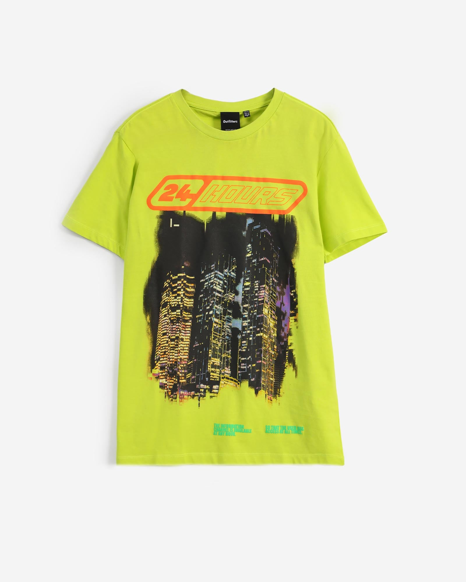 24-Hours Graphic Tee
