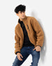 Mock Neck Sherpa Jacket