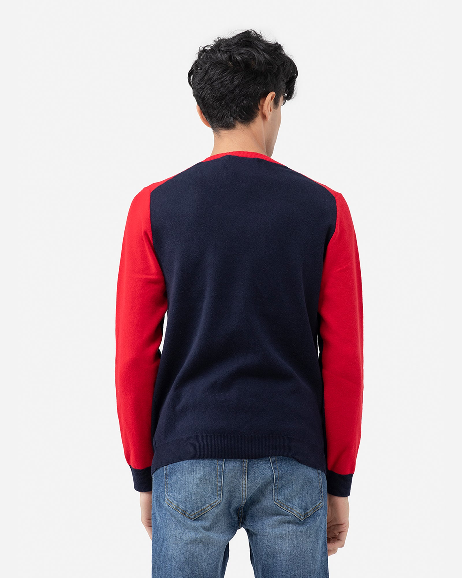 Color Block Brave New World Sweater