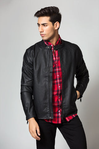 Regular Front Zipper Jacket